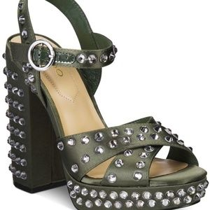 Aldo Britain Jewel Platform Sandal